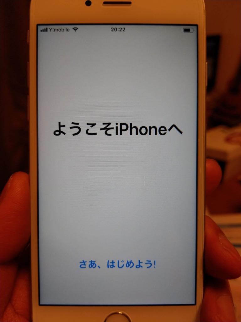 英語とかフランス語とか中国語でなんか出てた。日本語選ぶと起動‥iPhoneかっこいい