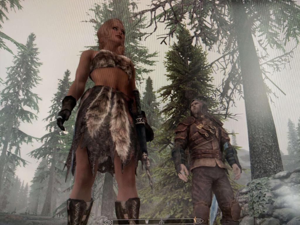 冒険者アネッククラッグジャンパー(人妻)とスカイリムふたり旅