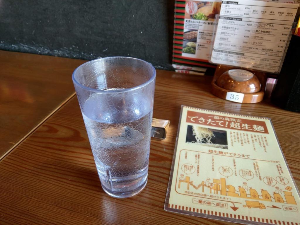 ガチで水がおいしい!お冷から糸島の水を味わってほしい!