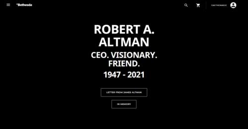 R.I.P. Robert A. Altman